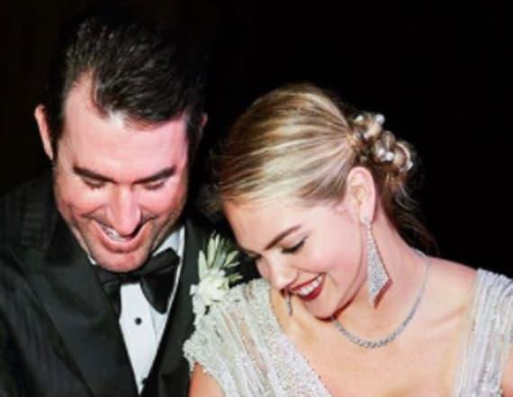 Kate Upton stuns in see-through wedding dress