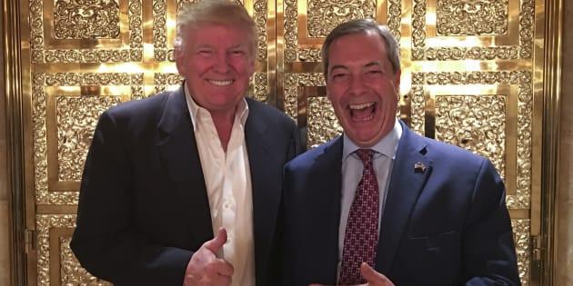 Donald Trump voit bien Nigel Farage - ici le 12 novembre à New York - en ambassadeur britannique aux États-Unis.