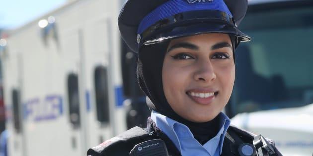 Constable spécial de la police régionale Peel, à Mississauga.