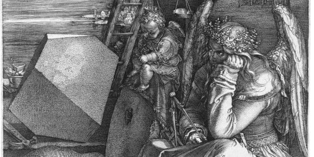 "Albrecht Dürer: ""Melancholia I"" (1514)"