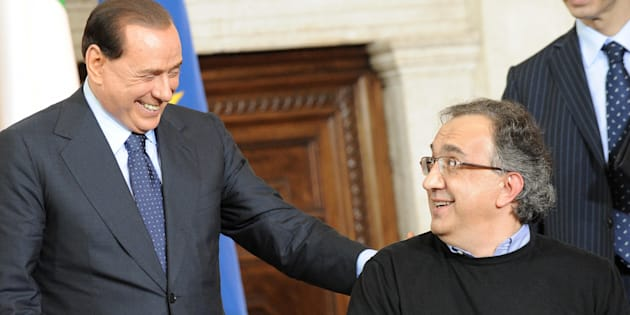 """Silvio Berlusconi: """"Quella di Marchionne è una bella st"""
