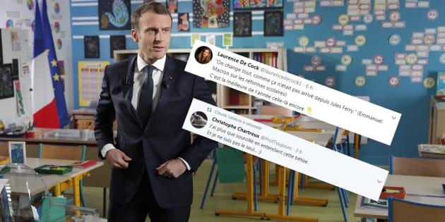 Macron au 13h de Pernaut: sa déclaration sur ses réformes de l'école fait bondir ces historiens