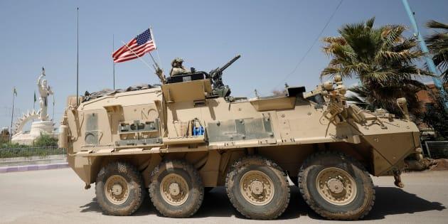 Les États-Unis bombardent un convoi pro-régime en Syrie