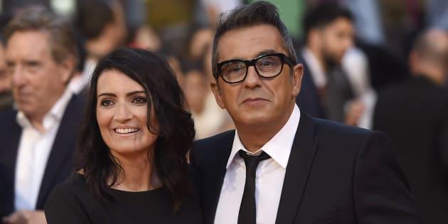 El presentador Andreu Buenafuente y la actriz Silvia Abril.