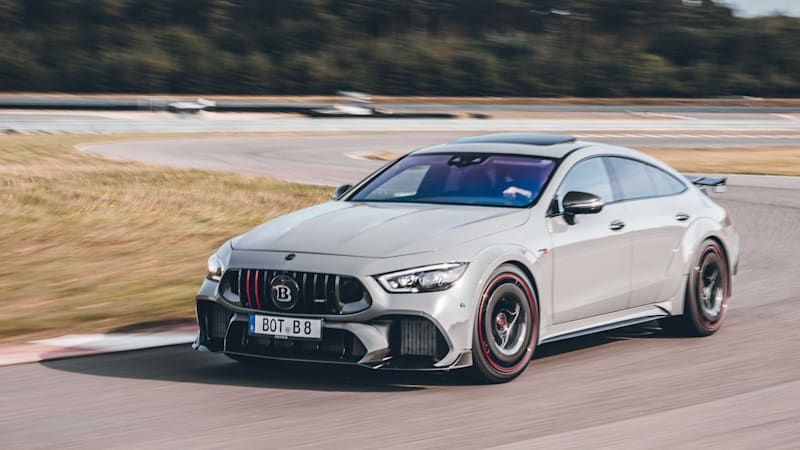 Brabus Rocket 900 One of 10 tunes Mercedes-Benz GT 63 S to 900 hp