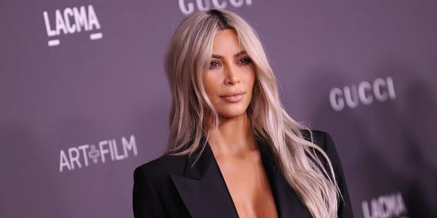 Kim Kardashian attends the 2017 LACMA Art + Film gala in Nov. 2017 in Los Angeles, California.