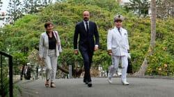 Édouard Philippe se félicite de la participation et du climat du référendum en