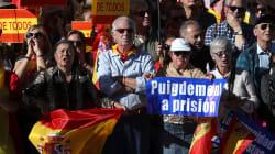 À Madrid, des milliers de manifestants demandent l'arrestation des responsables