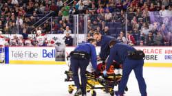 Un autre joueur du Canadien subit une sévère blessure au tournoi des