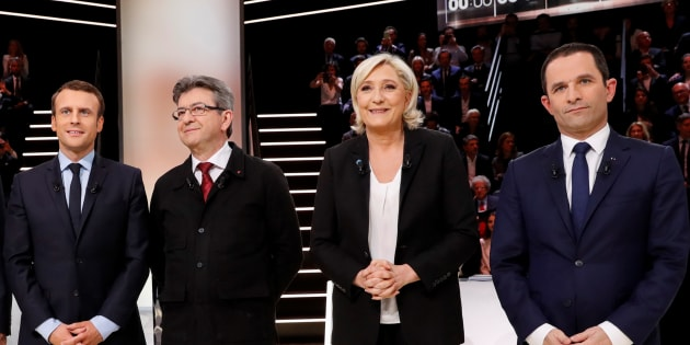 Les candidats à la présidentielle ne doivent pas être tétanisés face à Marine Le Pen. REUTERS/Patrick Kovarik/Pool