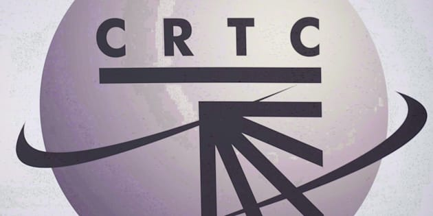 A CRTC logo is shown in Montreal on September 10, 2012.