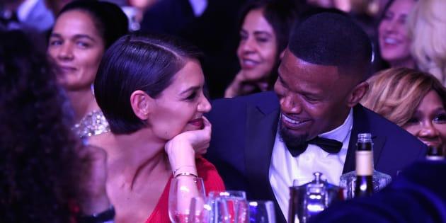 Grammy Awards 2018: Les regards de braise entre Katie Holmes et Jamie Foxx ne sont pas passés inaperçus