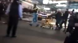 La police néerlandaise tire sur un homme armé d'un couteau à l'aéroport
