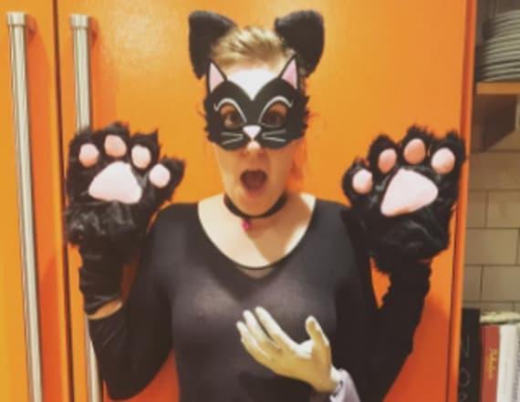 Lena Dunham's contentious costume