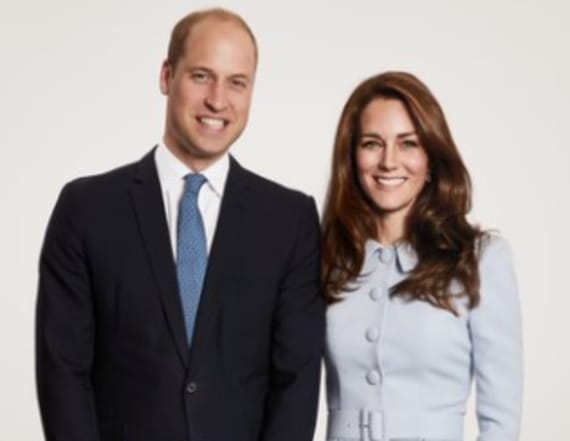 Prince William, Kate Middleton unveil Christmas card