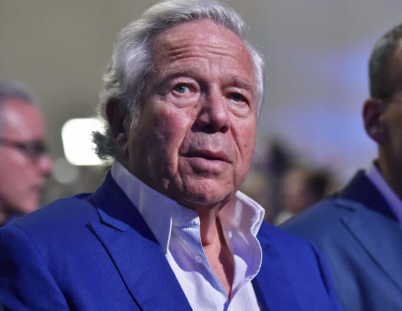 Patriots owner Kraft charged in prostitution sting
