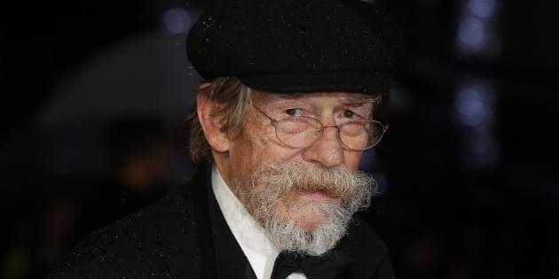 """L'acteur britannique John Hurt, connu pour ses rôles dans """"Elephant Man"""", """"Harry Potter"""" ou """"Alien"""", est mort"""