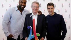 Bernard Lapasset et Tony Estanguet, le tandem olympique de Paris