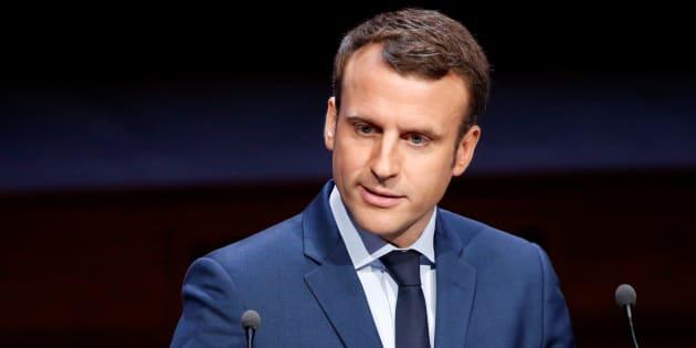 Bayrou le voulait, Macron l'a fait! REUTERS/Charles Platiau