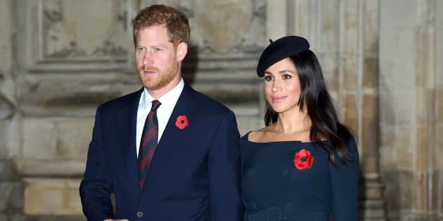 Los duques de Sussex compartieron una nueva foto de su boda
