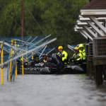 FOTOS: Los estragos del temido huracán Florence sobre Carolina del