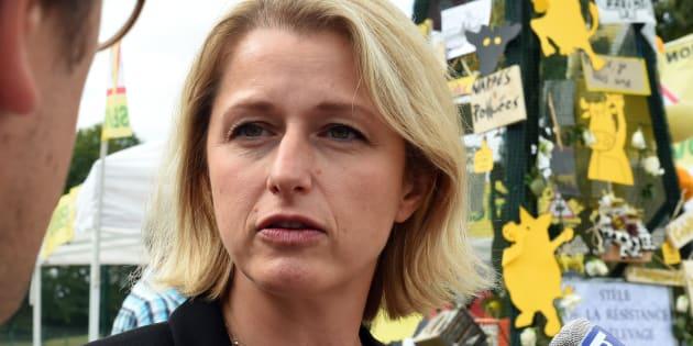 Barbara Pompili à Drucat, le 11 septembre.