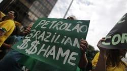 O combate à corrupção na Petrobras; interesses se