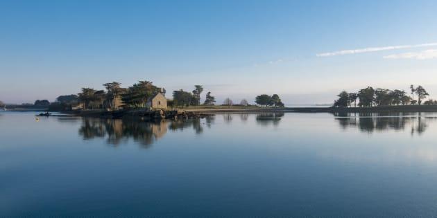 L'île d'Arz dans le golfe du Morbihan