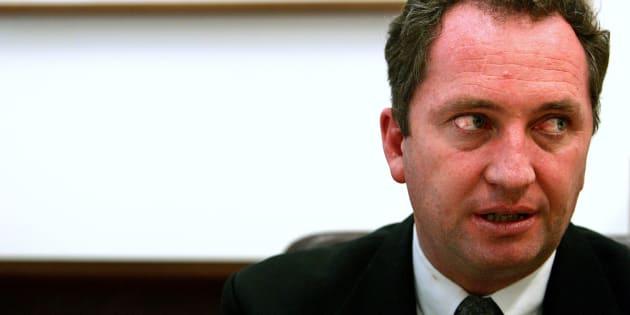 Barnaby Joyce has resigned