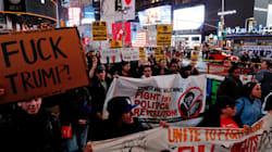 'Not My President': Protesters Descend On Trump Tower, Fill Streets Around