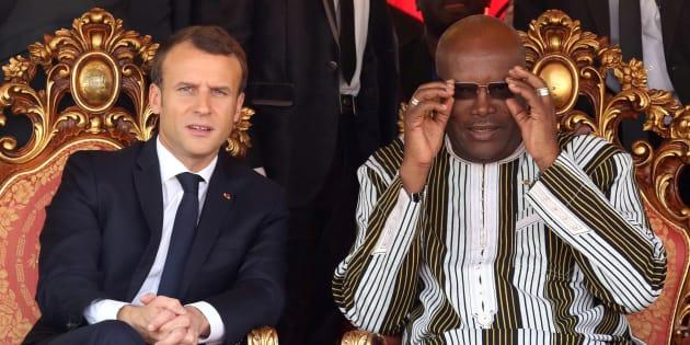 Le président burkinabé Roch Kaboré n'en veut pas à Macron pour sa blague sur la climatisation