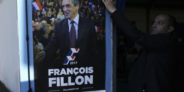 Affiche de campagne de François Fillon.
