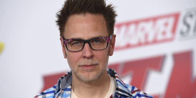 """James Gunn, ici en juin pour l'avant-première de """"Ant-Man et la guêpe"""" à Los Angeles, a été réembauché par Disney pour réaliser le troisième """"Gardiens de la galaxie""""."""