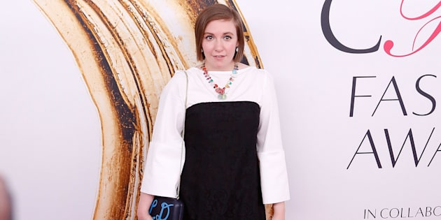 Lena Dunham attends the 2016 CFDA Fashion Awards at the Hammerstein Ballroom on June 6, 2016 in New York City.