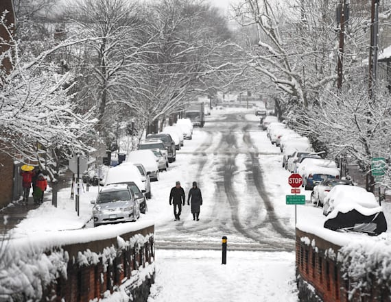 Snowstorms to deliver one-two punch this week