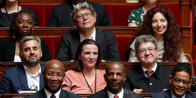 L'amendement a été déposé par Danièle Obono (en haut à gauche)