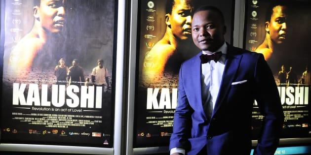 Actor Thabo Rametsi.