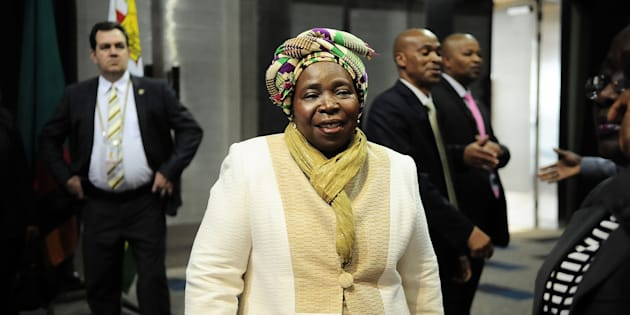 DA shadow minister Zakhele Mbele on Saturday said the Dlamini-Zuma held no position in the South African government and was not a visiting head of state.