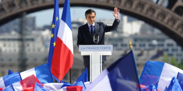 François Fillon s'était exprimé place du Trocadero pendant la campagne de Nicolas Sarkozy.