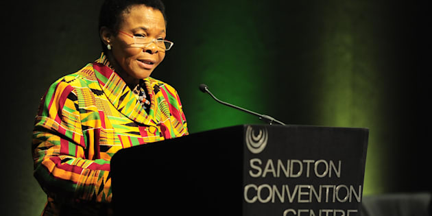 Minister of Women in the Presidency Susan Shabangu  Photo: Thulani Mbele/The Times/Gallo Images/Getty Images
