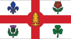 Un symbole de la présence autochtone ajouté au drapeau et aux armoiries de