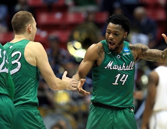 Marshall upsets Wichita State in shocking game