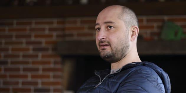 Arkadi Babtchenko, un journaliste russe très critique de Moscou assassiné par balles en Ukraine.