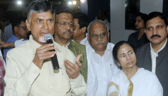 Mamata Banerjee, Chandrababu Naidu Meet In Kolkata, Say Opposition Parties Will Discuss Strategy