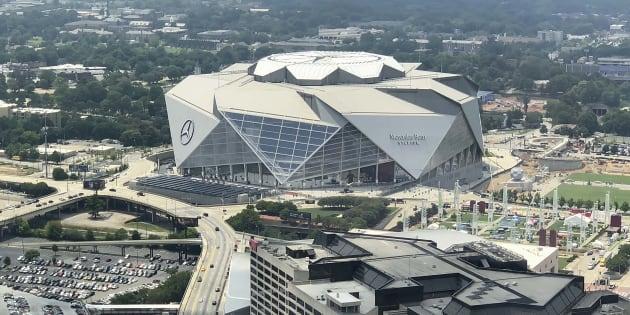 El estadio sede en Atlanta recibirá a los Rams de Los Ángeles y a los Patriotas de Nueva Inglaterra.