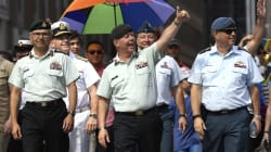 Top Soldier Makes Pride Parade History But Stays Quiet On LGBTQ