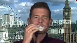Il avait promis qu'il mangerait son livre sur le Brexit si Corbyn atteignait 38%. C'est chose
