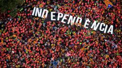 Un million de Catalans manifestent pour l'indépendance à