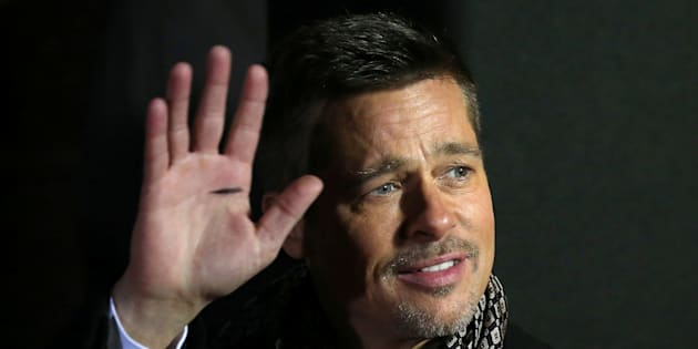 """Actor Brad Pitt arrives at the premiere of the film """"Allied"""" in Madrid November 22, 2016. REUTERS/Juan Medina"""