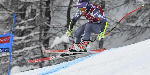 La chute impressionnante de Tessa Worley lors du Super-G de Val-d'Isère